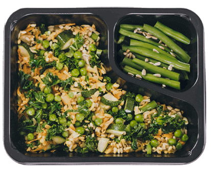 posiłek wegetariański