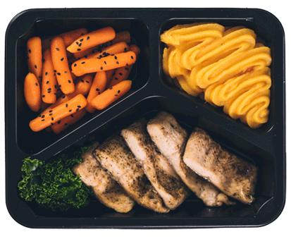 posiłek z diety sport