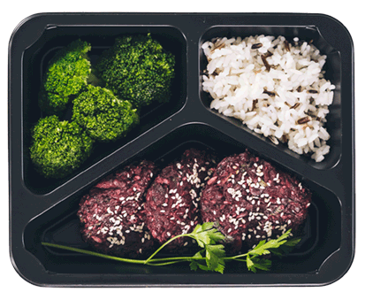 danie obiadowe w pudełku