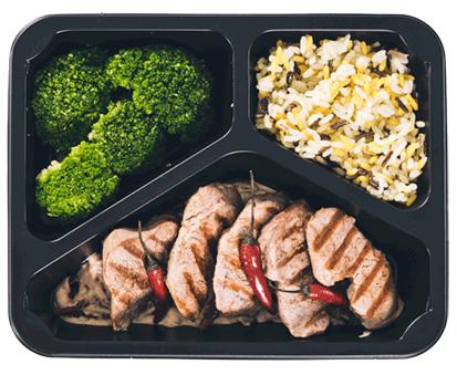 posiłek z diety zbilansowanej