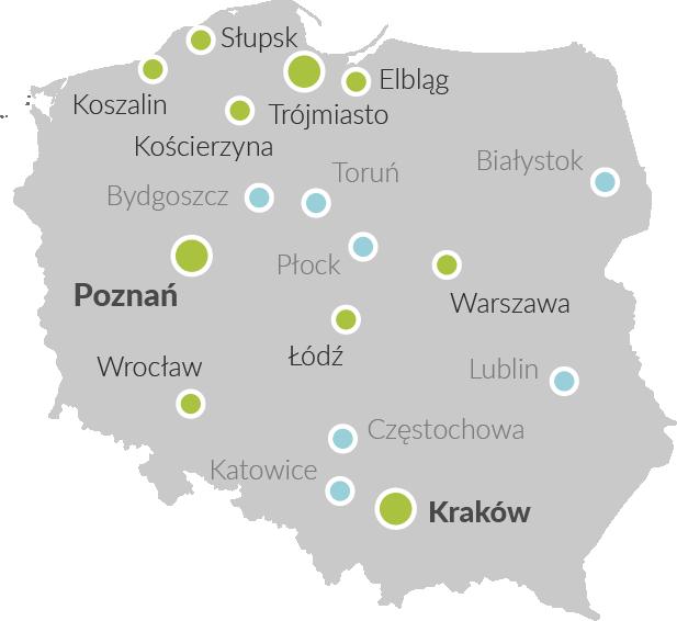 mapa dostaw rukola